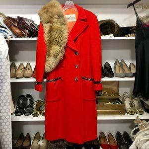 Vintage Bonwit stellar coat